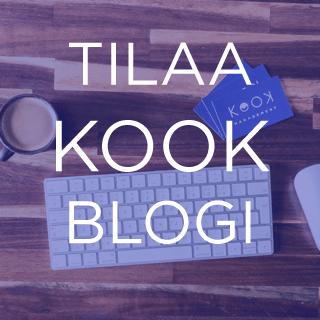 Tilaa Kook Blogi - Kook Management tarjoaa yrityksille tulevaisuuden työelämän työkaluja helposti luettavassa muodossa. - Copyright 2020 Kook Management - All Rights Reserved