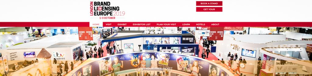 KOOK Management is actively joining Brand Licensing Europe trade show annually.