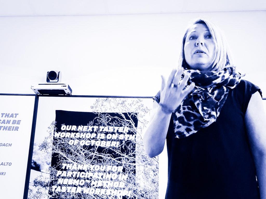 Nanna Hänninen on kehittänut NEemo Method -fasilitointimenetelmän organisaatio- ja muutostyökaluksi.