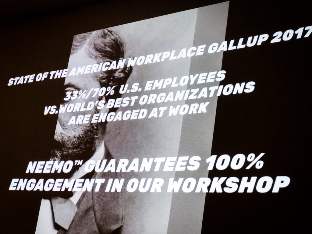 KOOK Management uses the Neemo Method workshop. It's a new facilitation tool for company management. Personnel management gets a tool from Neemo to develop future working life skills #futureofwork.