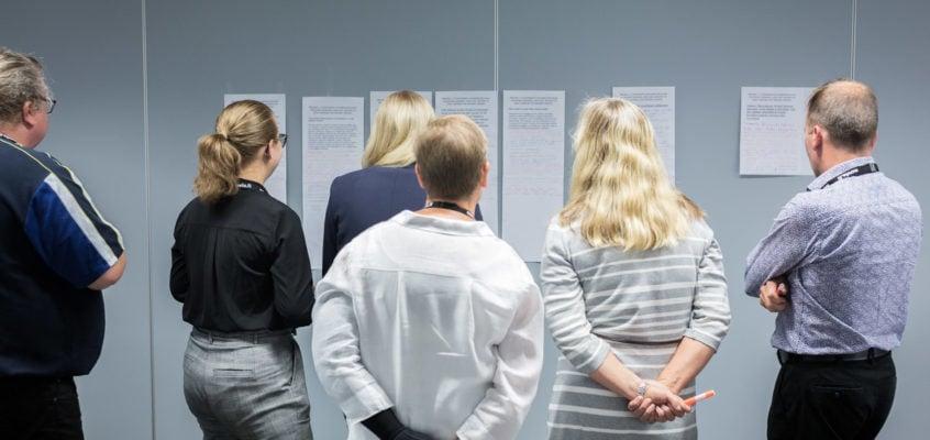 Innovaatiokulttuuri ja innovaatioiden kehittäminen -työpajassa pureiduttiin käsiteltävän ongelman löytämiseen IRM-tool hankkeen Pilot työpajassa - Copyright 2020 Kook Management - All Rights Reserved