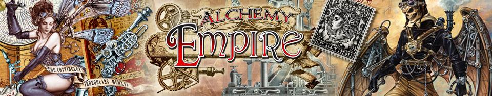 Alchemy Empire kuvapankki sisältää useita huippukuvituksia raskaasta metallista kevyeen. Kook on Alchemy England agentti pohjoismaissa.
