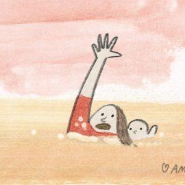 Mother And Milk - Animationsregissör Ami Lindholm. Animationsämnen inkluderar amning, familj, relation, föräldraskap.
