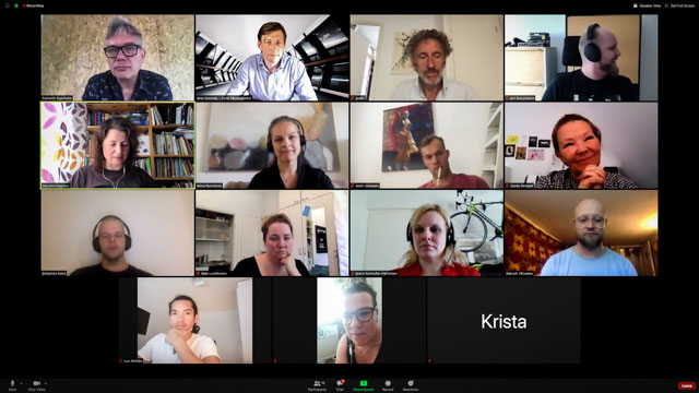 AIO NOrdic Network interview project - Preparing for the unknow took place in June 2020 bu Artbizz, Taike and Breaks