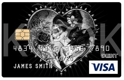 Urban Rock henkiset pankkikortit erottuvat! Kook Management edustaa Alchemy Englandin kuvagallerioita ja yli 800 kuvateosta. #Bankcard #luottokortti #pankkikortti #debitkortti